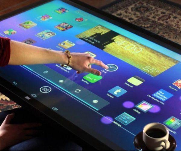 Steuerung per Touchscreen